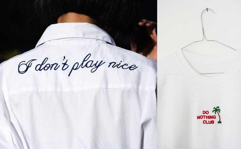 t-shirt con scritte, t-shirt parlanti, tendenze primavera estate 2017, camicie con slogan