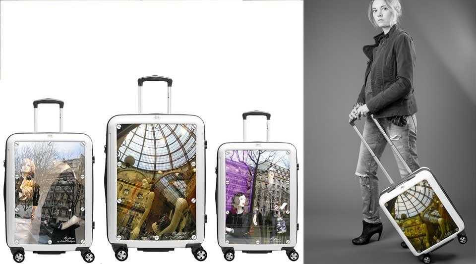 valigie chanel, valigie gucci,