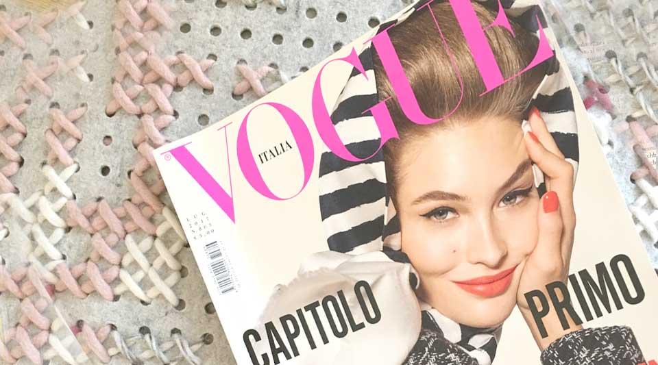 Capitolo primo Vogue Italia. Lo avete letto? Ecco come la penso