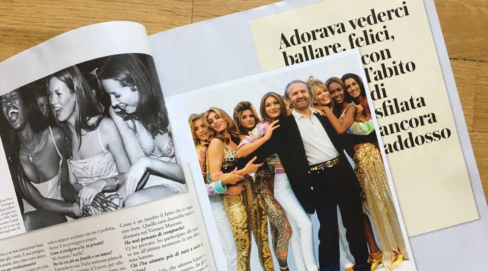 Capitolo primo Vogue Italia, emanuele farneti per vogue, prio numero di vogue