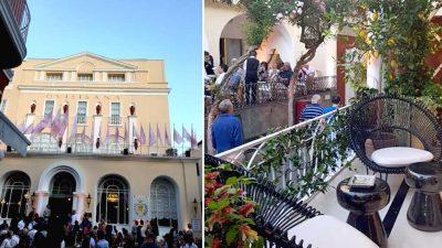 Chanel fa ballare Capri con il party di inaugurazione della sua boutique éphémère