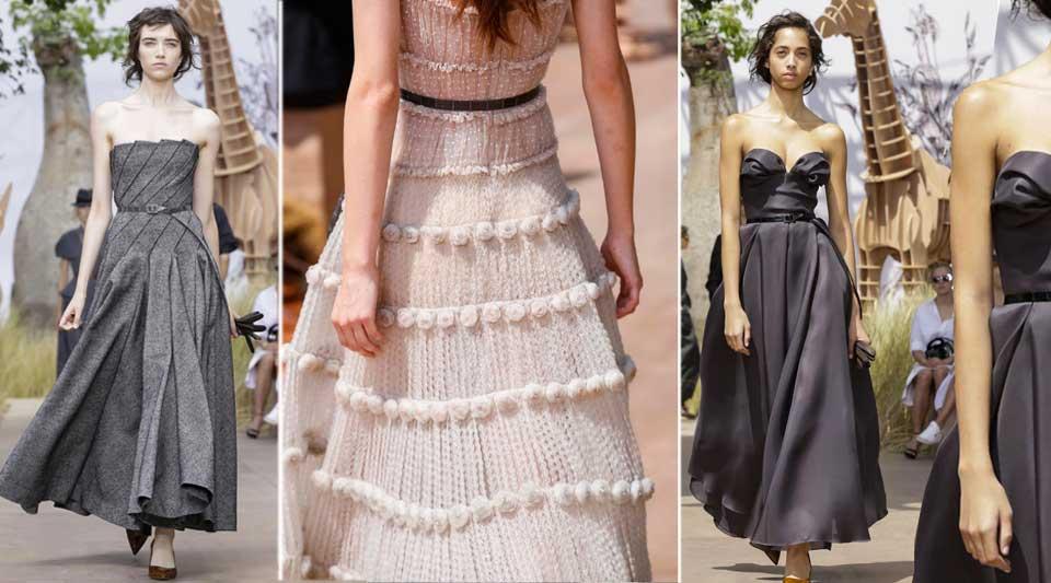 Dior è Haute Couture autunno inverno 2017. Maria Grazia Chiuri, ti ammiro