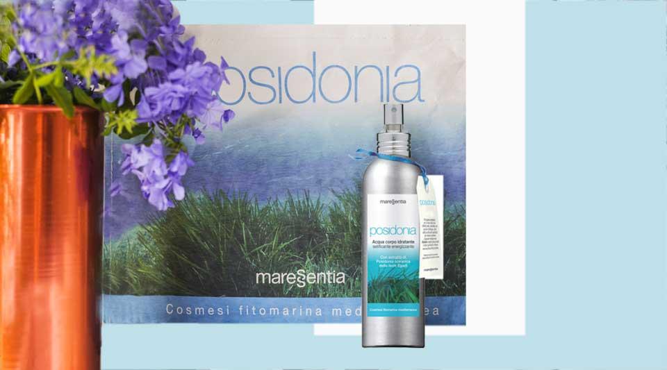 Posidonia Oceanica, maressentia, cosmesi fitomarina, acqua corpo idratante di maressentia