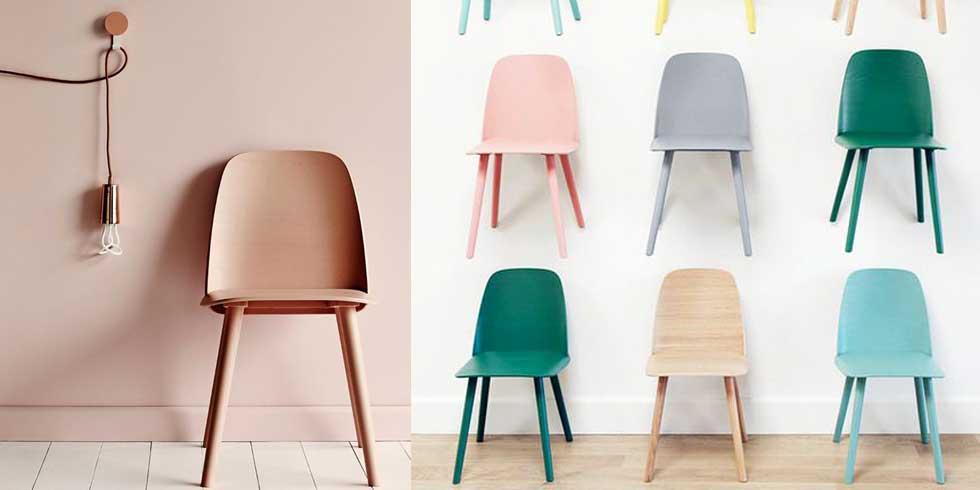 Sedie colorate, come dare nuova vita al salone, come abbinare sedie colorate, come scegliere le sedie colorate