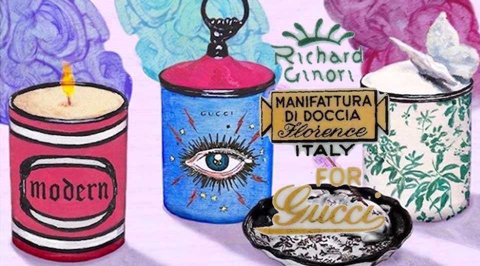 Richard Ginori per Gucci dècor. Porcellana e oggetti da collezionare