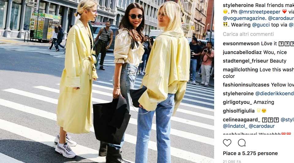Come ci si veste alla fashion week, street style nyfw, come ci viste da femministe, miglior street style 2017,