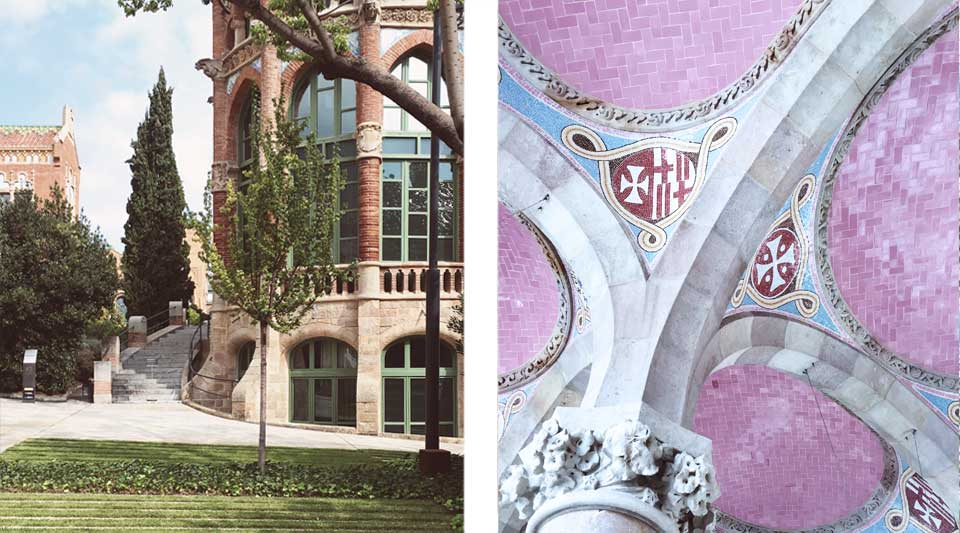 Catalunya experience, gastrotrip in catalunya, Modernist Center of Sant Pau 