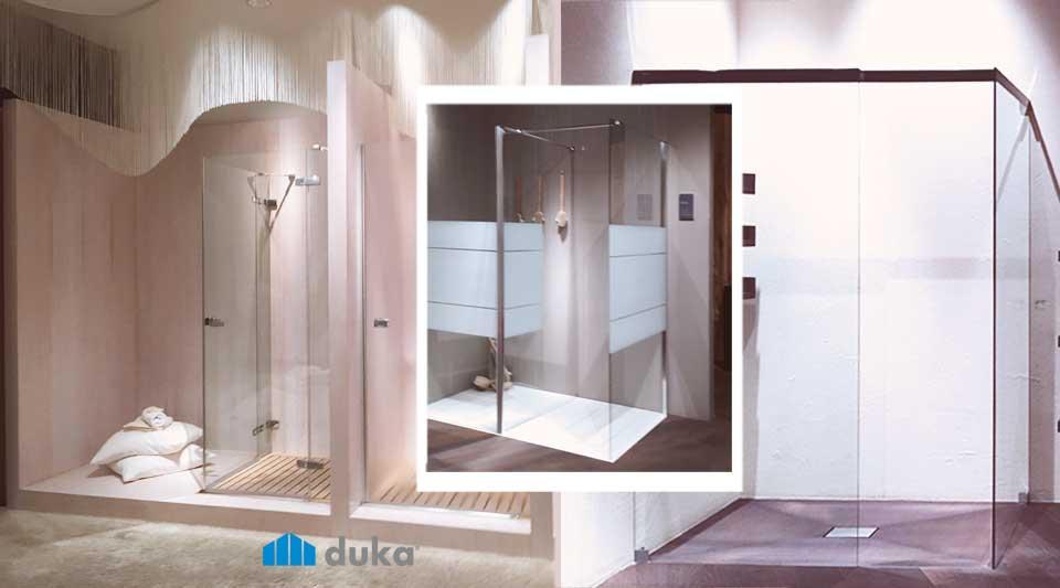 DUKA cabine doccia design pensate per te. Senza bisogno di parlare