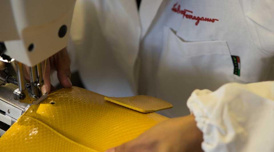 Ferragamo laboratorio sostenibile per made in Italy d'autore