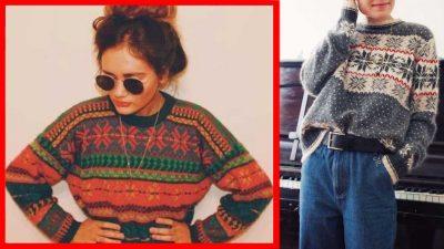 Maglioni norvegesi 2017: la versione chic del maglione natalizio