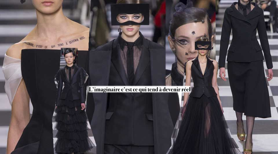 Dior Chanel fashion sharing, dior haute couture 2018, chanel haute couture 2018, balla mask beauty dior