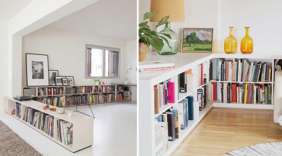 Librerie basse design per arredare con i libri ogni angolo for Arredare libreria