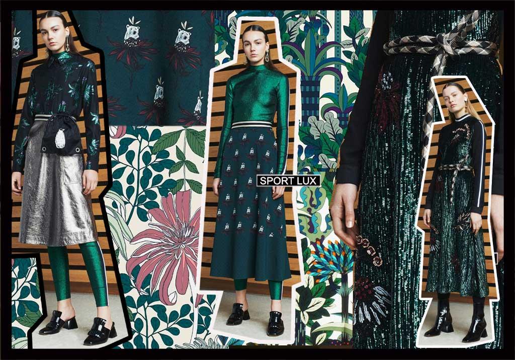 Markus Lupfer, Markus Lupfer collezione inverno 2017/2018, best british designer, prints all over outfit
