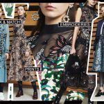 Markus Lupfer, Markus Lupfer collezione inverno 2017/2018, best british designer, prints all over outfit