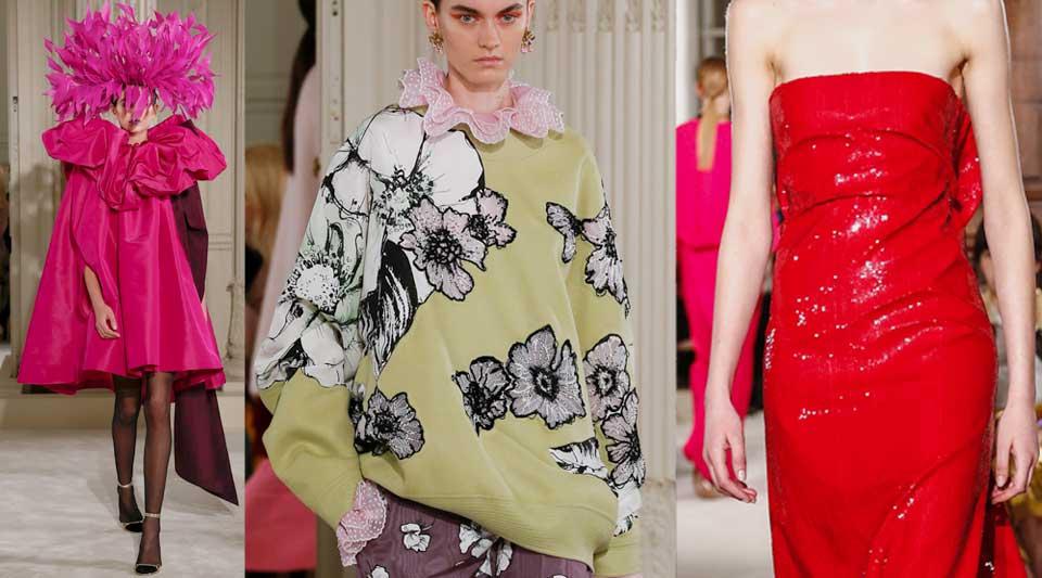 Valentino Alta Moda primavera estate 2018, ispirazione verde, moda ispirata alla natura