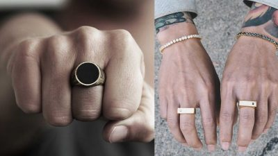 Top Tips For Wearing A Ring If You're A Man