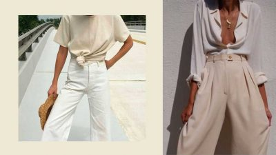 Neutral colors 2018, the summer wardrobe. Not only for minimalism lovers
