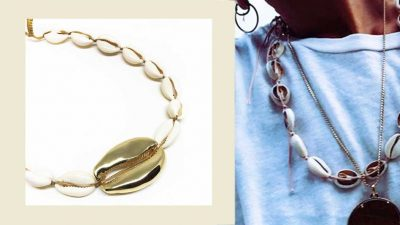 Summer jewelry 2018, shells are the real summer's stars
