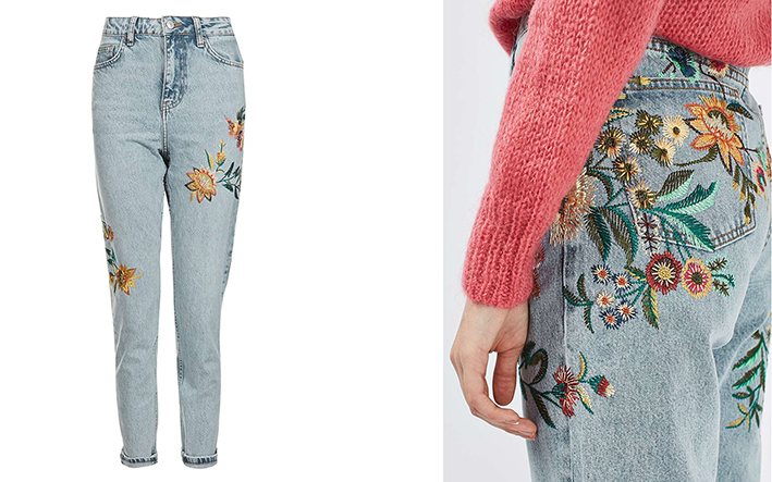 Embroidery Jeans 2016 Here Is Why We All Like This Trend
